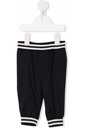 Moncler Enfant Baby Leggings - Logo-patch elasticated-waist trousers