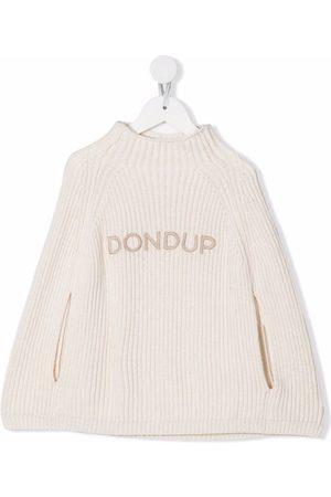Dondup Kids Embroidered logo jumper