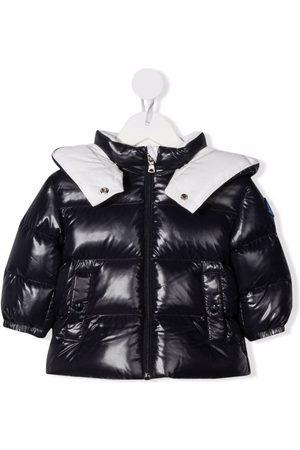 Moncler Enfant Padded hooded jacket