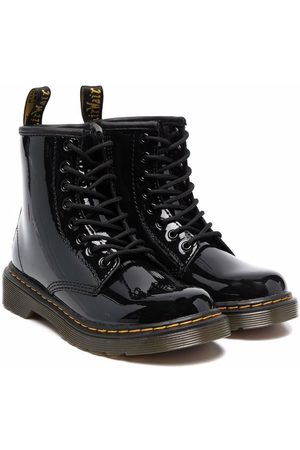 Dr. Martens Kids 1460 patent leather boots