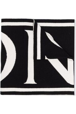 Moncler Enfant Logo lettering scarf