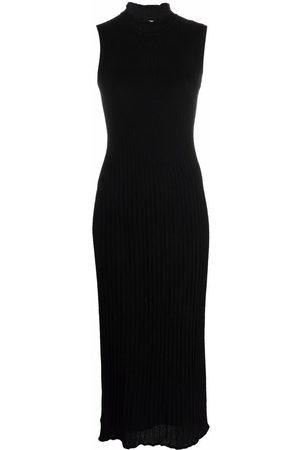 M Missoni Round neck sleeveless midi dress