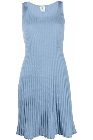 M Missoni Knitted pleated dress