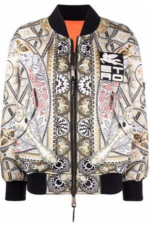 ETRO Reversible patterned zip-up bomber jacket