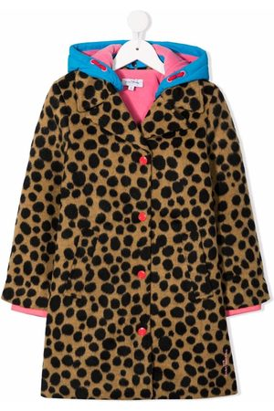 The Marc Jacobs Kids Animal-print single-breasted coat