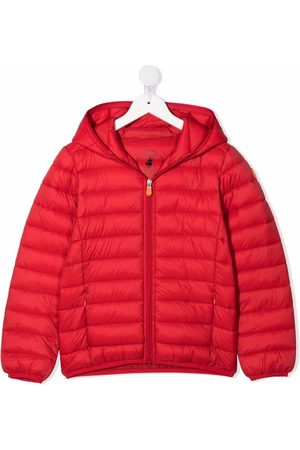 Save The Duck Kids Zip-up hooded padded coat