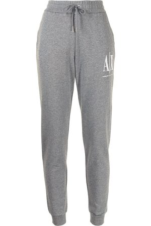 Armani Exchange Dames Joggingbroeken - Logo-print sweatpants