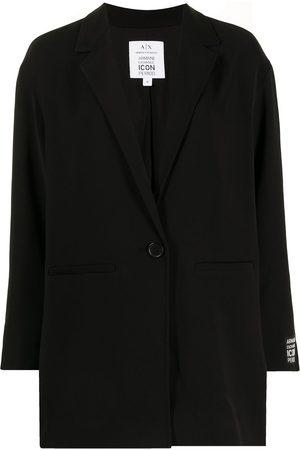 Armani Exchange Dames Blazers - Logo-patch blazer
