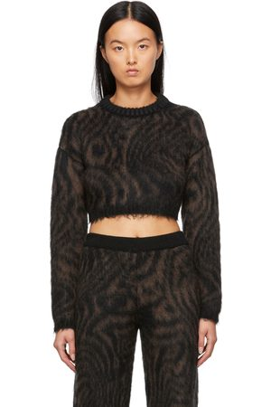 Opening Ceremony Black & Brown Heartwood Sweater