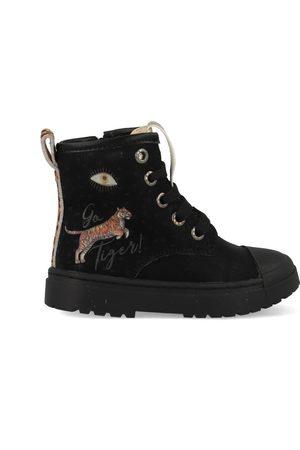 Shoesme Boot biker black tiger sw21w006-a