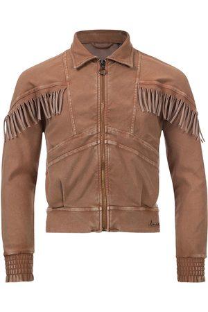 Looxs Revolution Meisjes Donsjassen - Zandkleurig jasje garment dye voor meisjes in de kleur