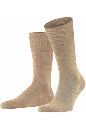 Falke Heren Ondergoed - Airport sokken camel