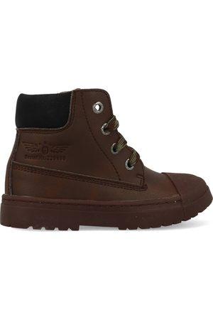 Shoesme Boot biker dark brown sw21w007-a