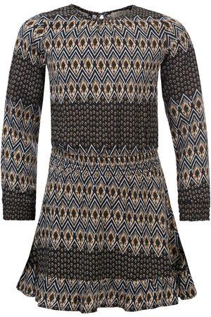 LOOXS Revolution Meisjes Geprinte jurken - Viscose jurk native print voor meisjes in de kleur