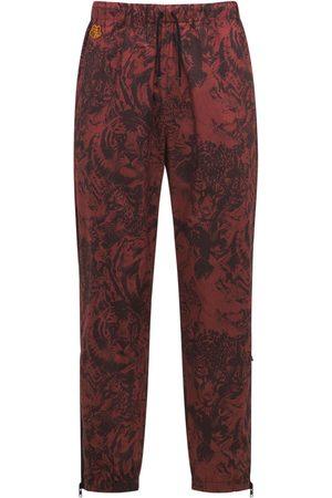 Kenzo Wwf Capsule Printed Cotton Sweatpants
