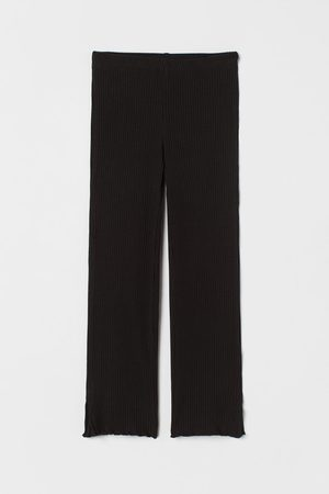 H&M Meisjes Leggings - Geribde broek