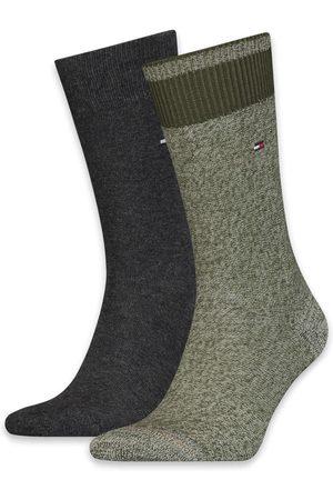 Tommy Hilfiger Heren Sokken - Sokken Men Seasonal 2P Mouline