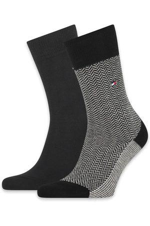 Tommy Hilfiger Sokken Men Seasonal Sock 2P Herringbone Neppy