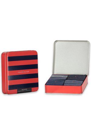 Tommy Hilfiger Sokken Men Sock 4P Tin Giftbox Stripe