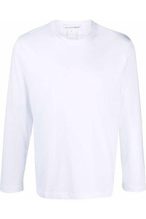 Comme Des Garçons Shirt Heren T-shirts - Rear logo-print T-shirt