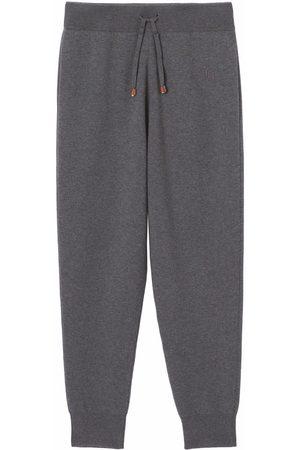 Burberry Dames Joggingbroeken - Monogram-embroidered track pants