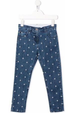 Stella McCartney Jongens Straight - Star-print straight-leg jeans