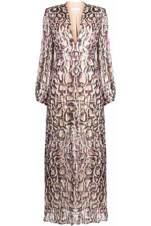 Patrizia Pepe Misty print maxi dress