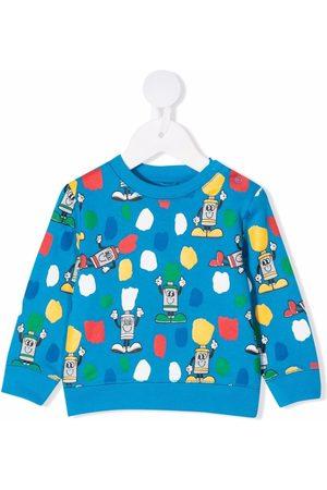 Stella McCartney Paint Tubes-print sweatshirt