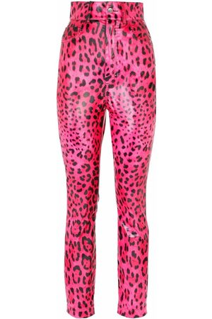 Dolce & Gabbana Leopard-print skinny trousers