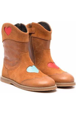 Camper Meisjes Enkellaarzen - TWS heart-motif boots