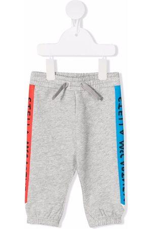 Stella McCartney Side-logo track pants