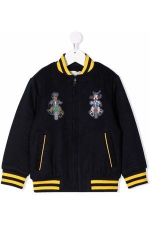 Stella McCartney Kids Embroidered bomber jacket