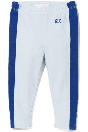 Bobo Choses Baby Leggings - Side stripe logo print leggings