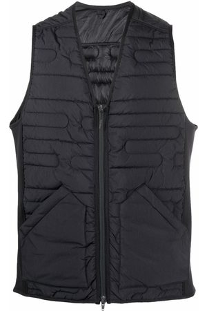 Y-3 Recycled polyester quilted gilet