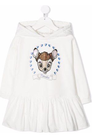 MONNALISA Bambi hooded dress