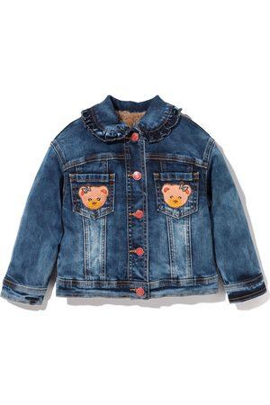 MONNALISA Bear denim jacket