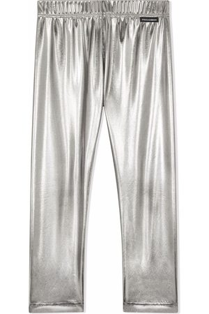 Dolce & Gabbana Meisjes Leggings - Elasticated-waistband leggings