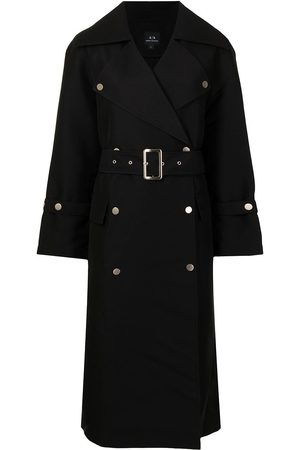Armani Dames Trenchcoats - Belted double-breasted coat