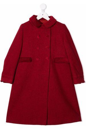SIOLA Meisjes Wollen jassen - Two-pocket virgin-wool double-breasted coat