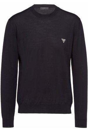 Prada Superfine wool long-sleeve jumper