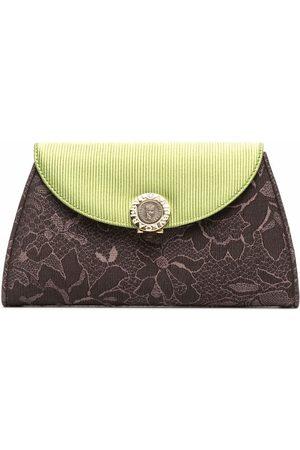 Bvlgari Floral-print clutch bag