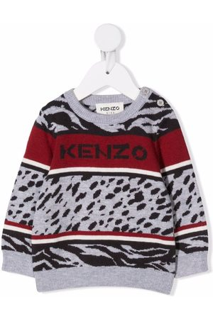Kenzo Mix print jumper