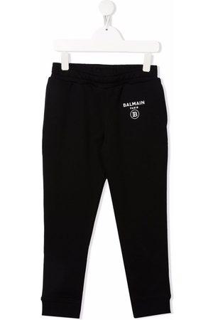Balmain Meisjes Joggingbroeken - Logo-print track pants
