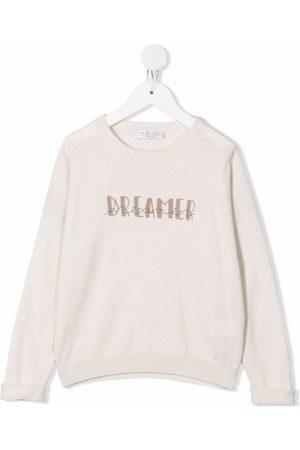 Brunello Cucinelli Kids Dreamer cashmere jumper