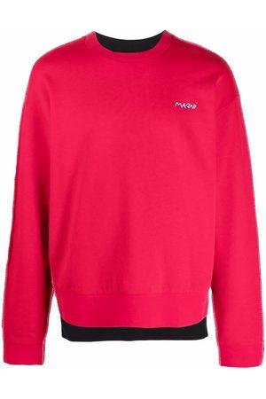 Marni Heren Sweaters - Colour-block sweatshirt