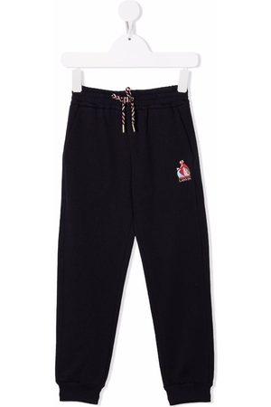 Lanvin Meisjes Broeken - Logo-print track trousers
