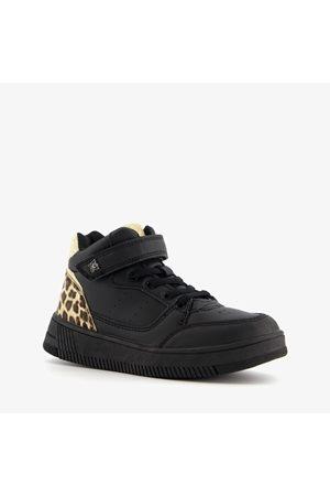 Blue Box Meisjes Sneakers - Meisjes sneakers met luipaardprint