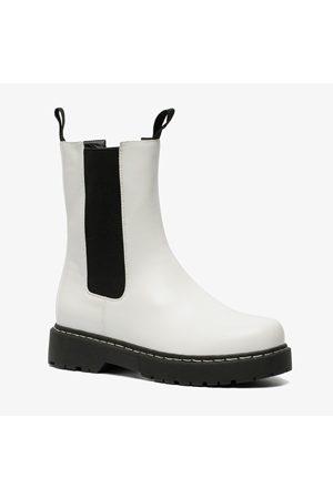 Blue Box Dames hoge chelsea boots