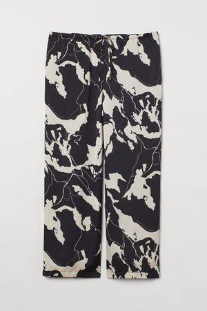 H&M Dames Wijde broeken - + Wijde broek