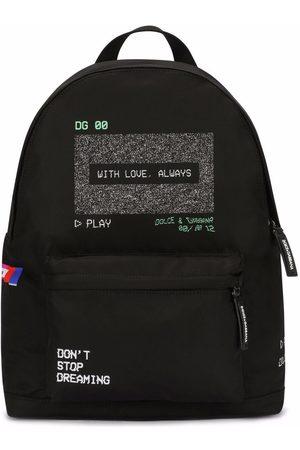 Dolce & Gabbana Screen-print backpack